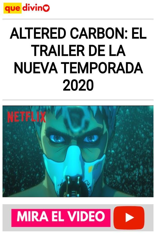 Altered Carbon: El TRAILER de la nueva temporada 2020